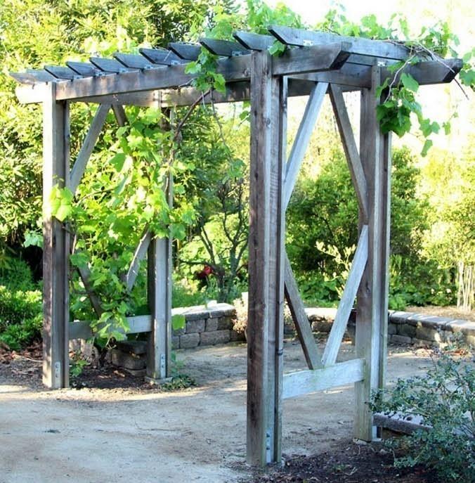 C mo hacer una p rgola de jard n paso a paso for Bioguia jardines