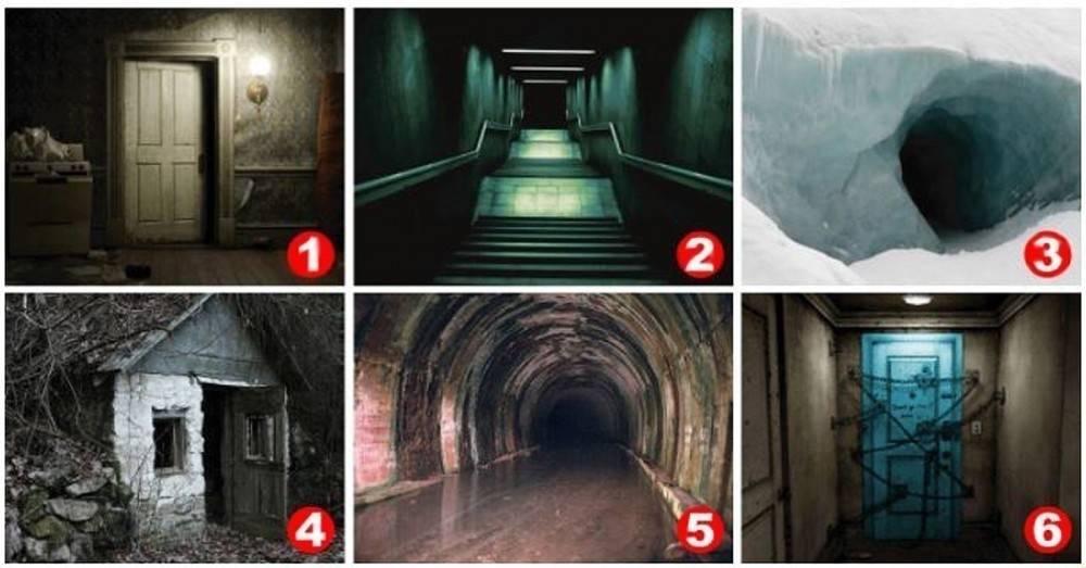Test: ¿En cuál foto tienes más miedo de entrar? descubre tu lado oculto y c..