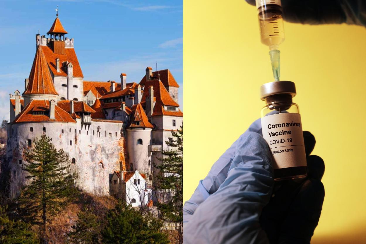 El castillo de Drácula se suma a los sitios turísticos que vacunan contra el COVID-19