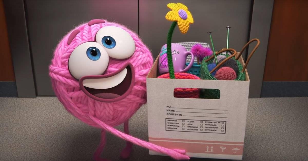 Este es Purl, el excelente e imperdible corto de Pixar sobre la masculinidad tóxica en el trabajo