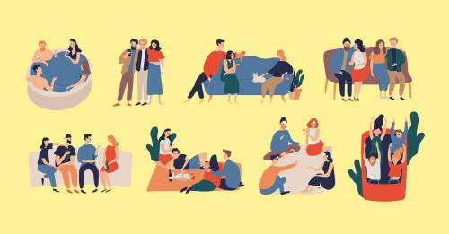 Test: elige un dibujo y descubre cuál es tu tipo de amistad ideal
