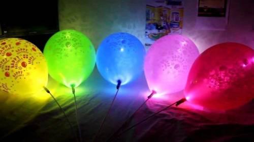 Truco para hacer tus propios globos luminosos