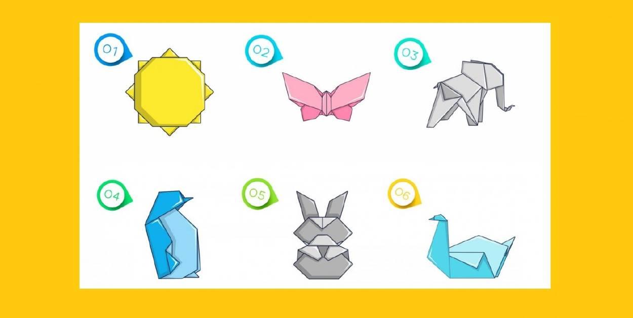 Elige una figura de origami y descubre un poderoso mensaje para tu vida