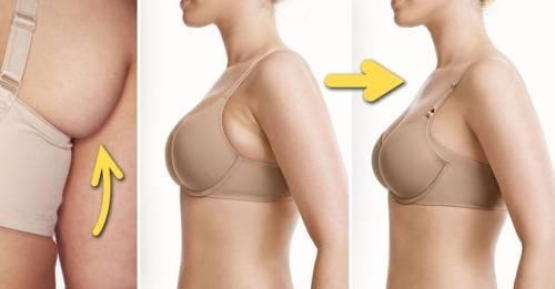 Cómo eliminar la grasa abajo de las axilas con 4 ejercicios