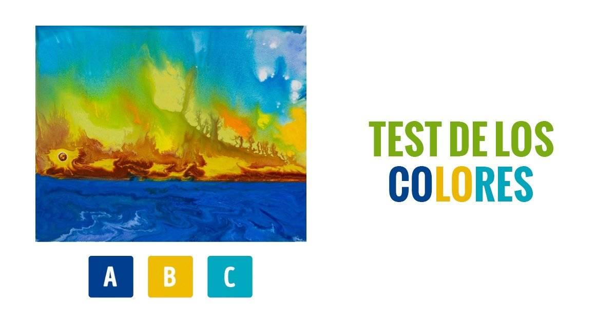 El test de los colores que te dirá exactamente cómo eres