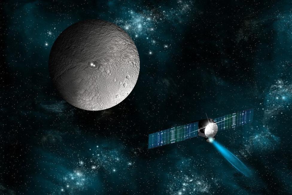 ceres y Dawn, la sonda espacial que lo explora