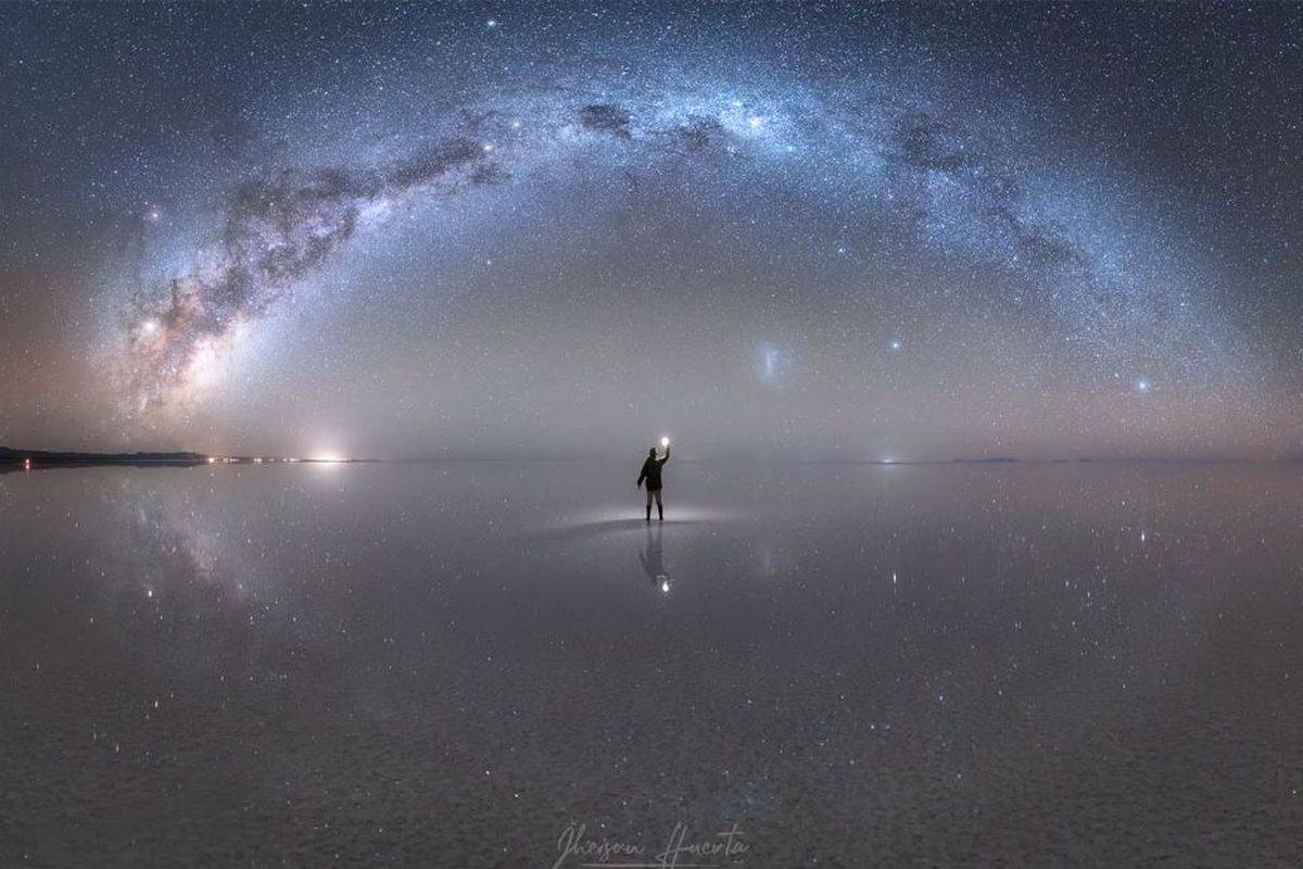 La NASA distingue a un fotógrafo peruano por su imagen de la Vía Láctea