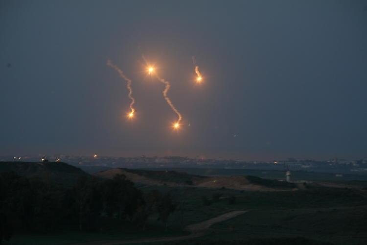 cohetes guerra gaza israel palestina