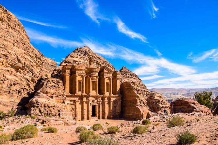 Petra Jordania viajar