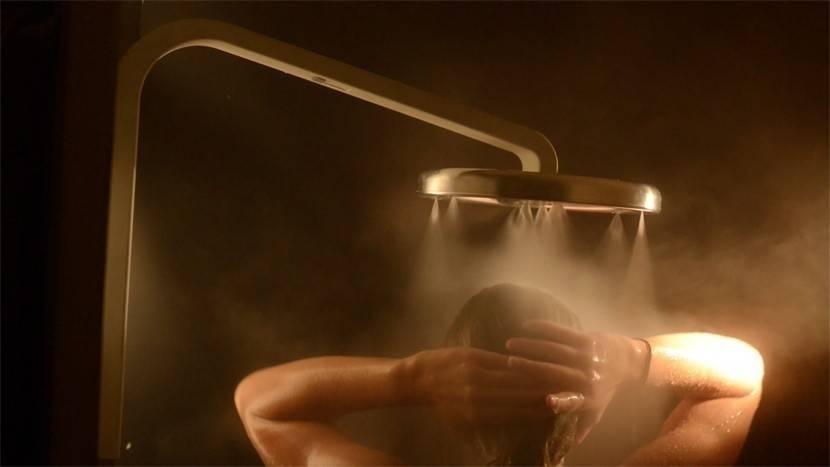 Un diseño que permite ahorrar agua mientras te bañas