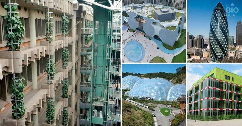 9 edificios que integran tecnología y naturaleza como ningún otro