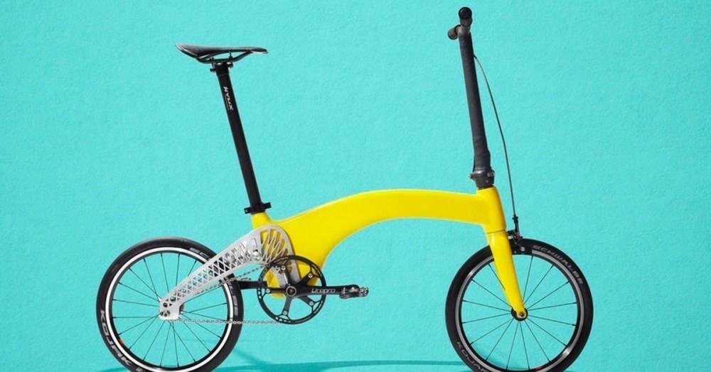Ésta es la bicicleta plegable más liviana del mundo