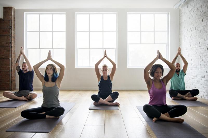 ejercicios de yoga para la diabetes fotos conciencia