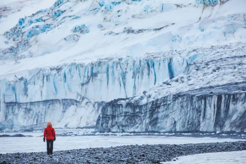 Cruzará la Antártida solo y a pie para concienciar sobre la crisis climát