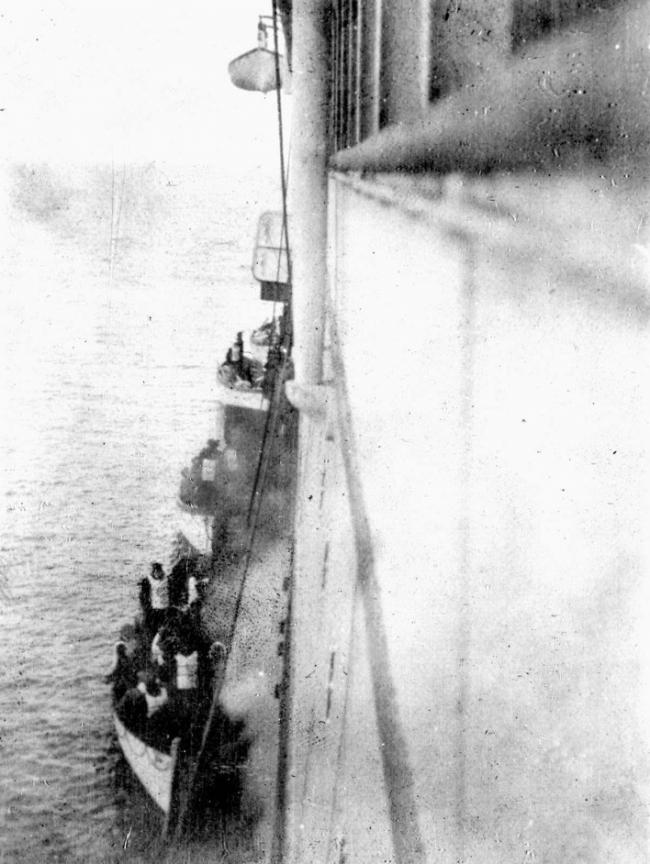 fotografías históricas titanic