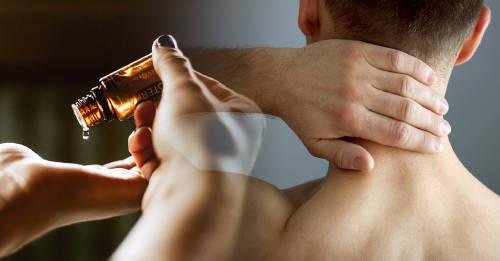 Cómo darte un masaje con aceite aromatizado naturalmente