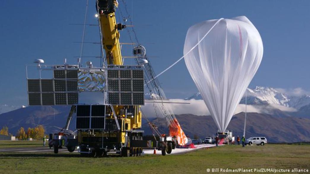 Rociar polvo para bloquear el sol: ¿podrá el globo de Bill Gates frenar el cambio climático?