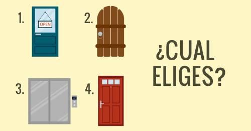El amor de tu vida está detrás de una de estas puertas... ¿Pero de cuál?
