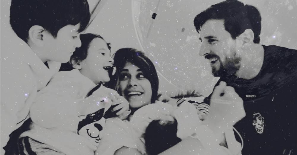 Ésta es la coincidencia mística del nacimiento del hijo de Messi