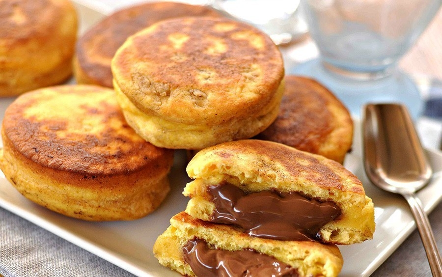 bizcochos nutella receta casera