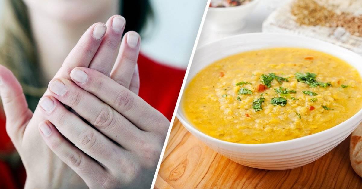 5 alimentos que debes probar si tus manos están siempre frías