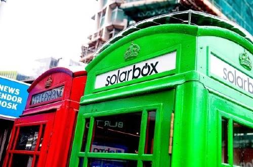 Cabinas verdes: en Londres puedes cargar tu móvil con energía solar en la ca..