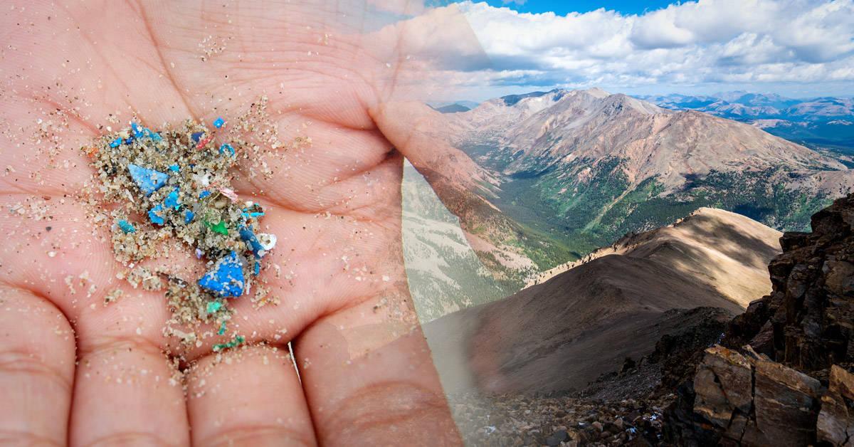 Está lloviendo plástico en las Montañas Rocosas de Estados Unidos
