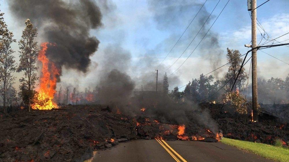Hay más de 2000 personas evacuadas por la erupción del volcán Kīlauea
