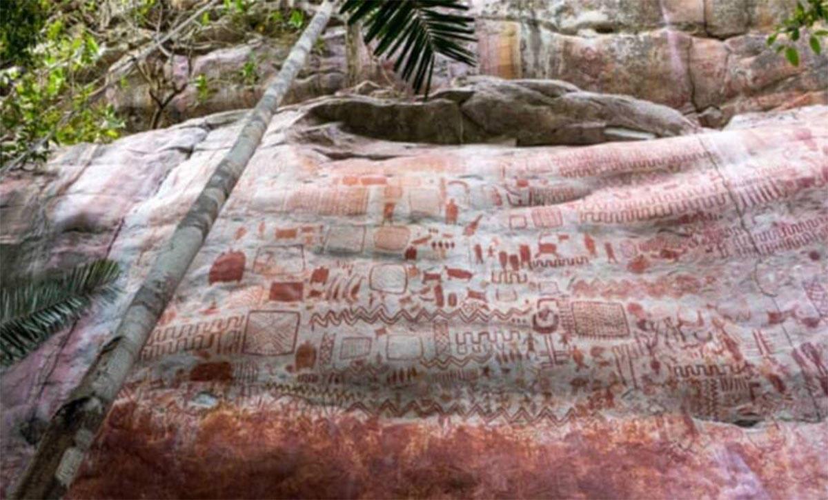"""Descubren la """"Capilla Sixtina de los antiguos"""" en la selva amazónica de Colombia"""