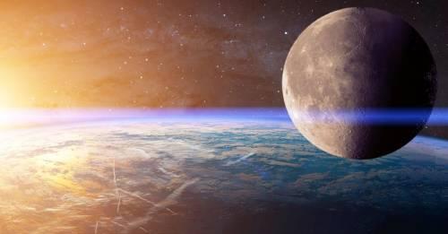 La luna podría haberse desprendido de la Tierra, según una nueva teoría