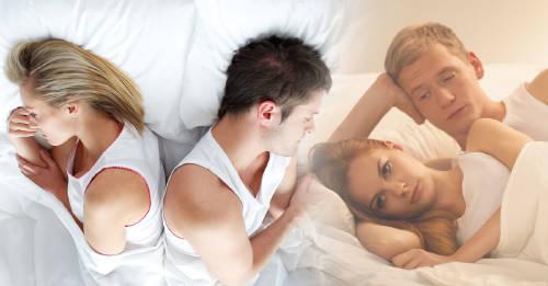 Desbarajuste sexual: ellas por la noche, ellos por la mañana