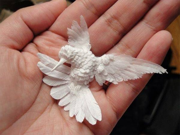Los colibríes de papel de Cheong-ah Hwang
