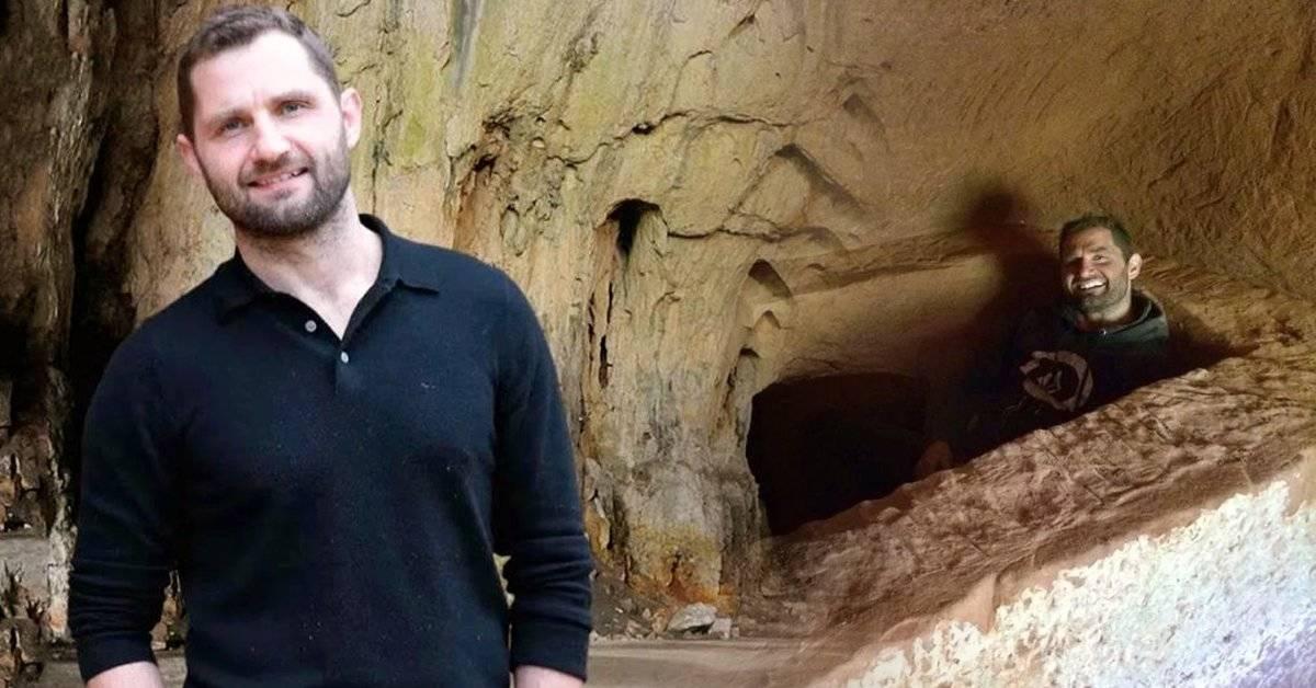 Este hombre abandonó la civilización para mudarse a una cueva