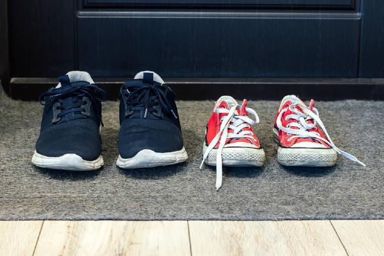 zapatos alfombra