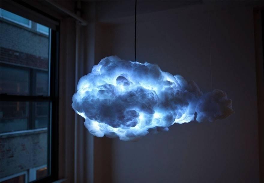 Cómo hacer una lámpara nube