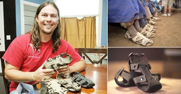 Zapatos que crecen: La sandalia que se ajusta hasta 5 talles