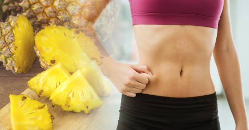 Por qué deberías comer piña todos los días si quieres un vientre plano