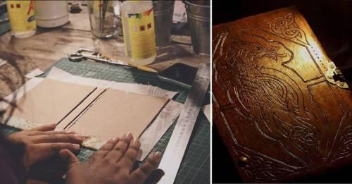 Video: cómo hacer tus propios libros y cuadernos artesanales