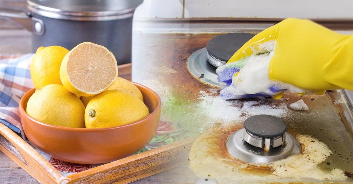 Elimina la grasa de la cocina con estos ingredientes naturales