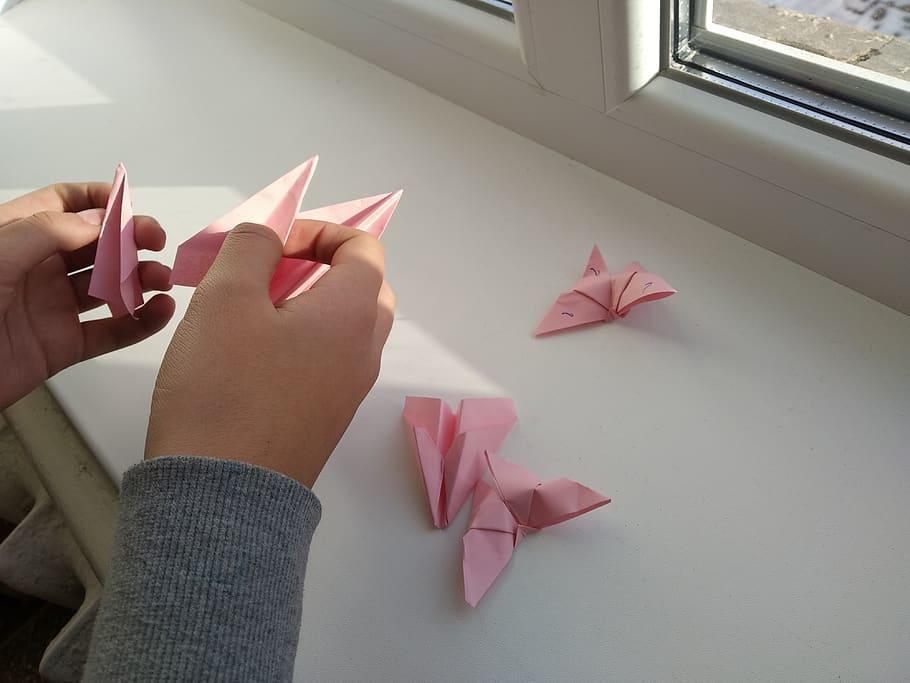 Estos son algunos de los beneficios de hacer figuras de origami