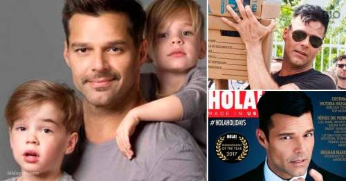 El pequeño hijo de Ricky Martin inspiró a su padre a hacer una gran acción