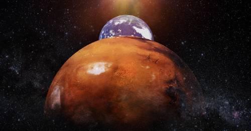 Hoy Marte estará mucho más cerca de la Tierra que en los últimos 15 años