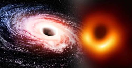 Así se ve la primera imagen de un agujero negro en la historia
