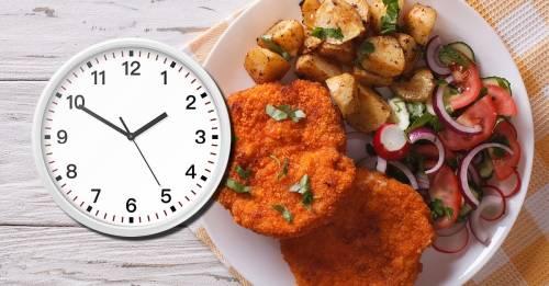 ¿A qué hora exacta hacer cada comida para digerir mejor y adelgazar?