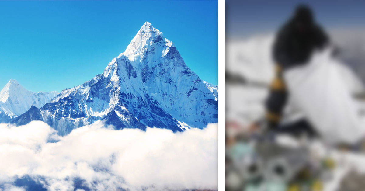 Algo vergonzoso está ocurriendo en la cima del Everest