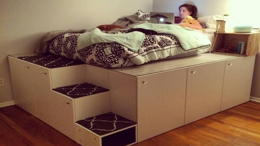 Cómo hacer una cama-baulera con plataforma