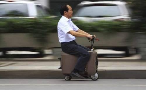 Una valija motorizada para transportarte a ti y a tus pertenencias