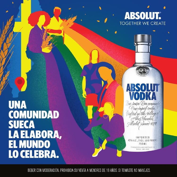 Publicidad de Absolut Vodka