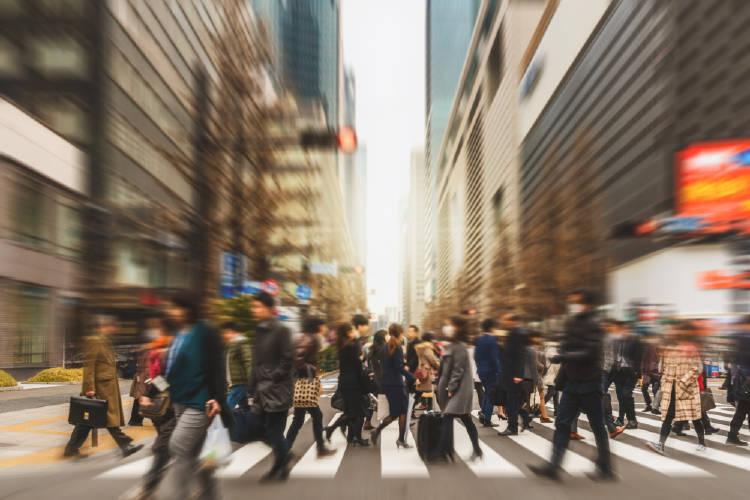 personas ciudad