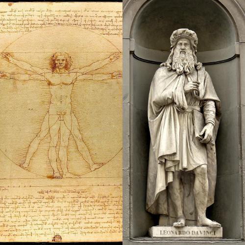 """Leonardo Da Vinci: toda la genialidad del artista italiano plasmada en el """"Hombr"""